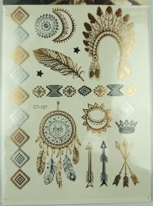 Metal-silver-golden-temporary-tattoos-font-b-Sticker-b-font-Wholesale-fashion-brand-new-necklace-bracelets