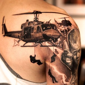 tattoo-combat-helicopter-with-soldiers